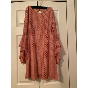 Altar'd State Pink Dress Size Medium